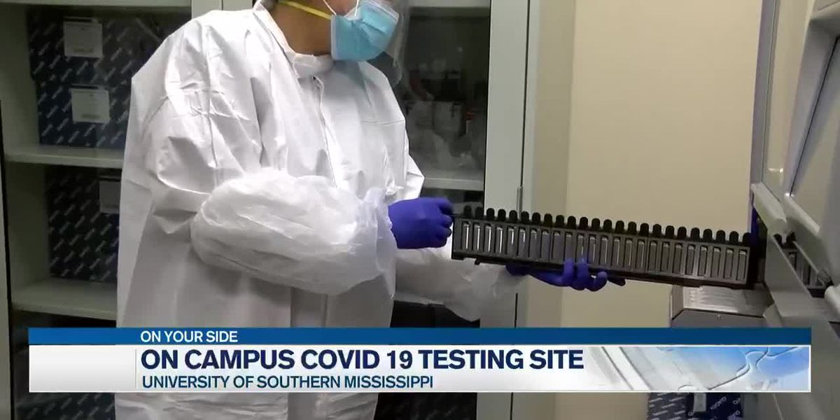 COVID-19 testing made available on USM campus ahead of fall semester