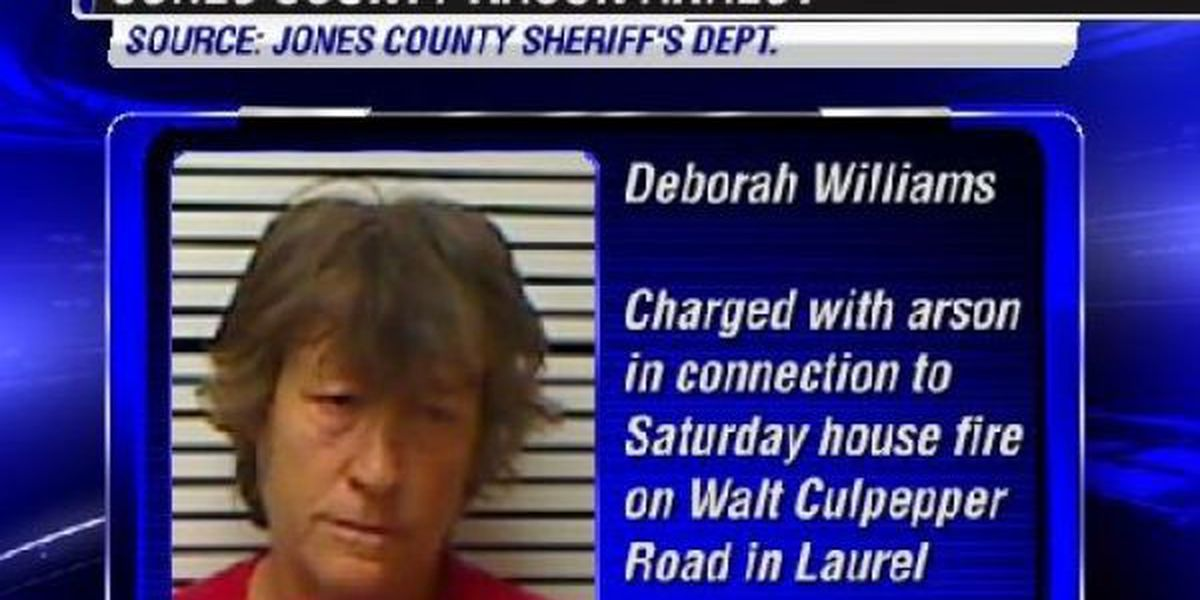 Jones County resident charged with arson for weekend house fire