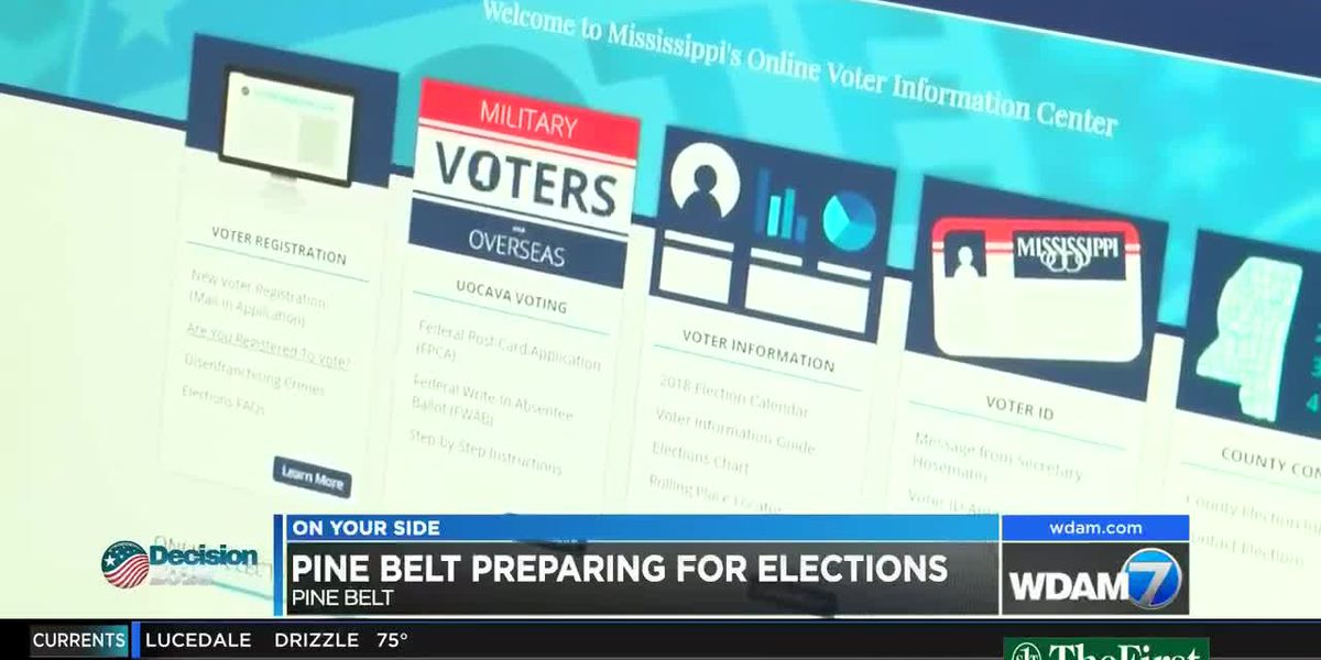 Pine Belt prepares for upcoming elections