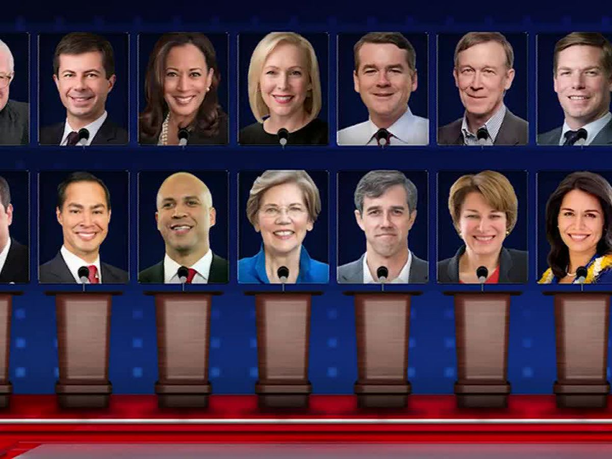 2020 Democrats converge in Miami for 1st night of debates