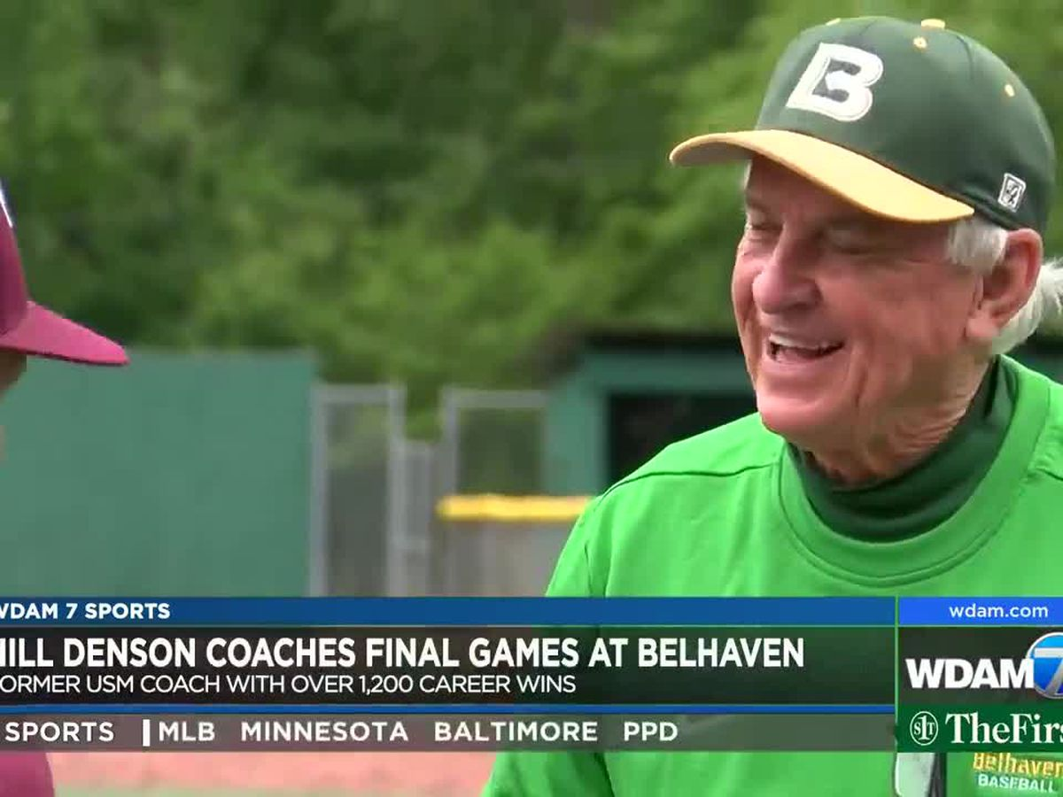 Hill Denson says goodbye to coaching