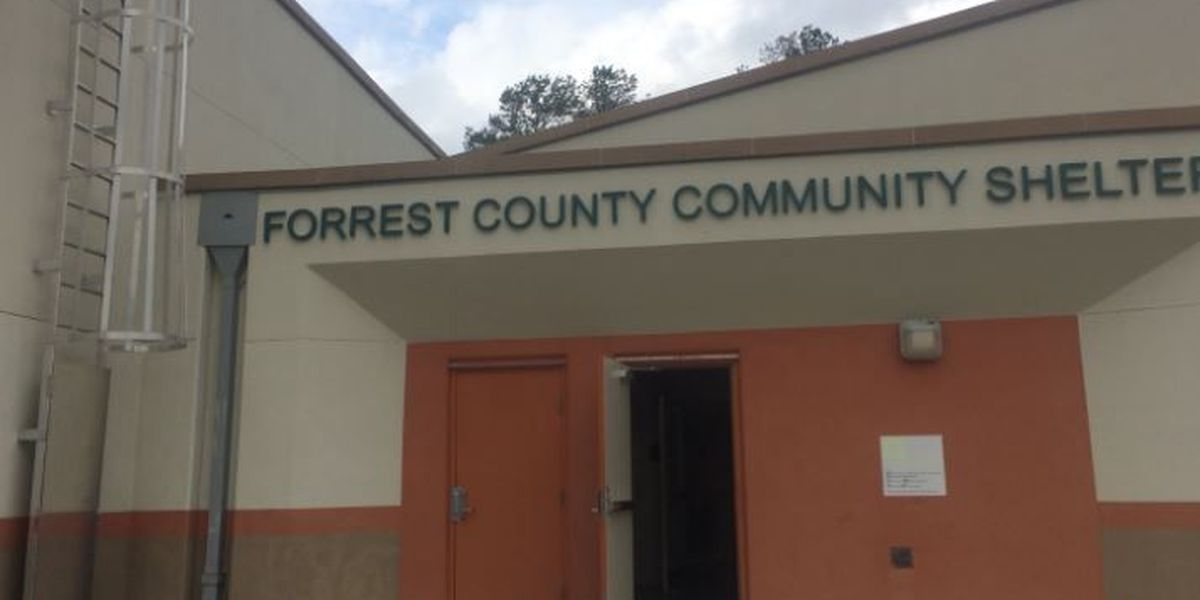 Forrest County shelter open ahead of severe weather threat