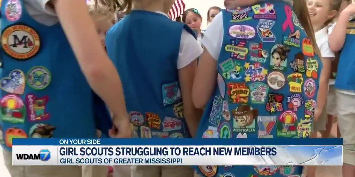 Girl Scouts of Greater Mississippi struggling to reach new members amid pandemic