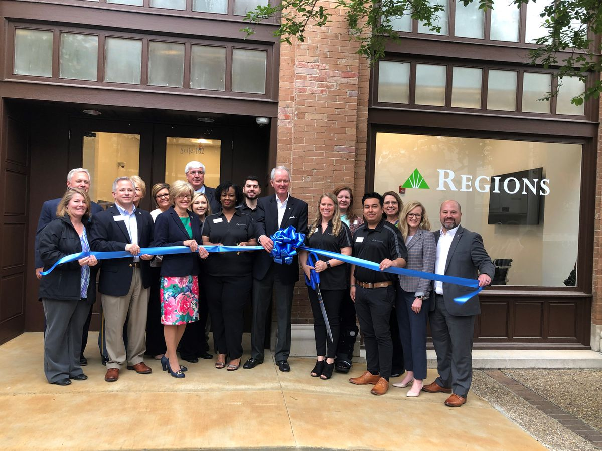 Regions Bank opens branch in downtown Hattiesburg