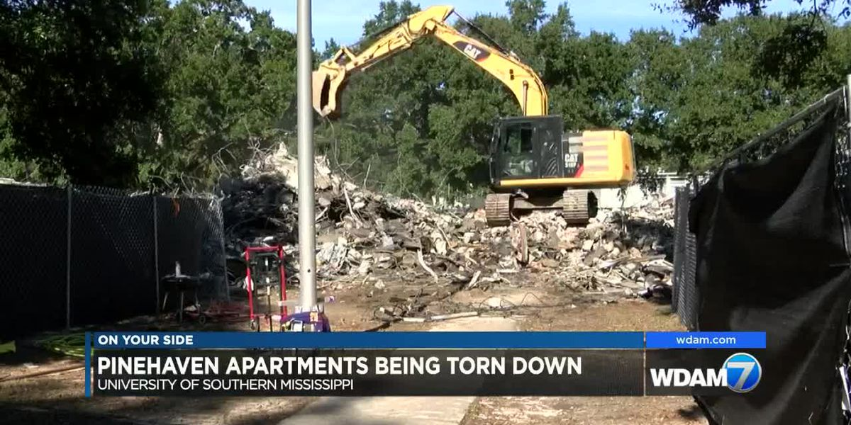 USM tearing down Pinehaven Apartments