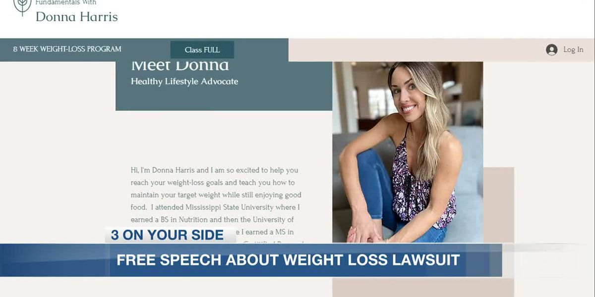 Miss. woman says she was threatened with fines, jail time for offering weight-loss program
