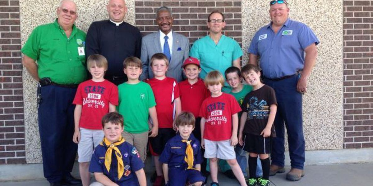 Cub scouts learn importance of water to earn badge