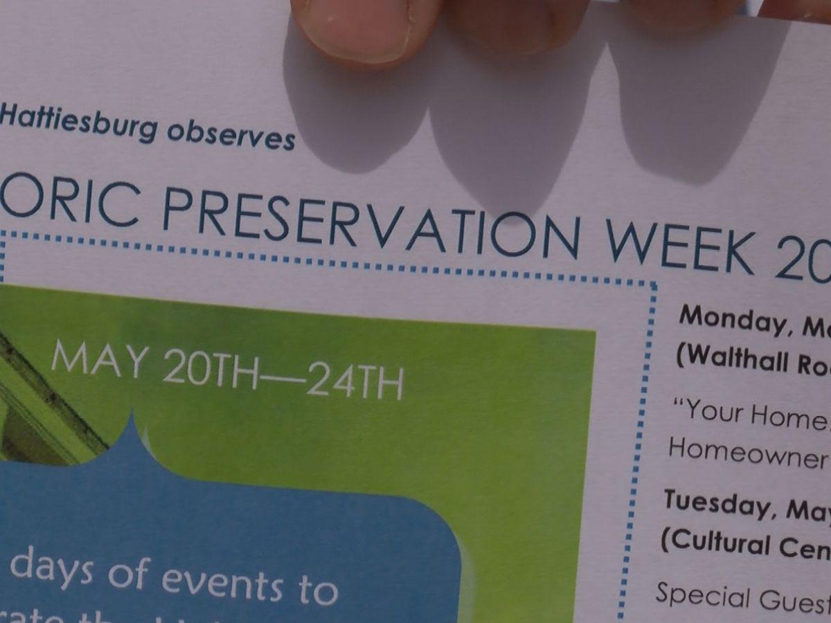 City of Hattiesburg begins Historic Preservation week