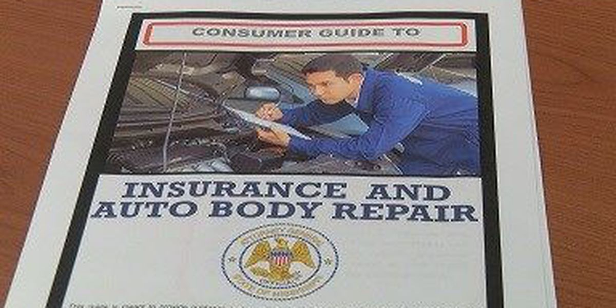 New guide from AG's office helping car owners with body repairs