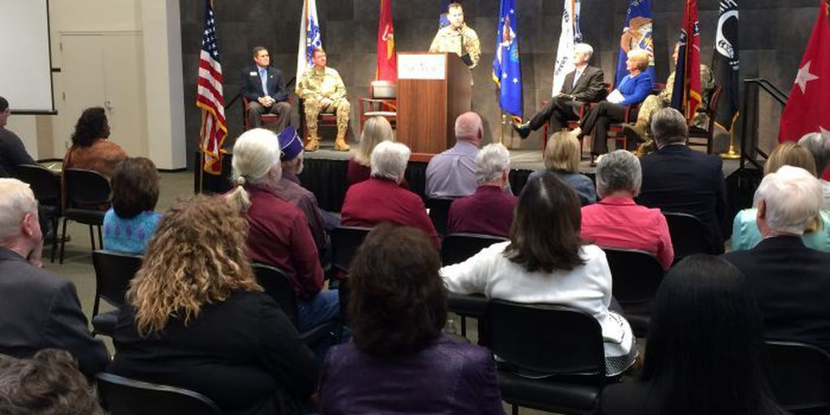 Camp Shelby holds groundbreaking for Gold Star families monument
