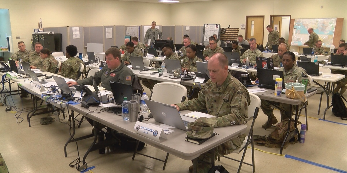 National Guard prepares for hurricane season with Patriot South 2020 exercise