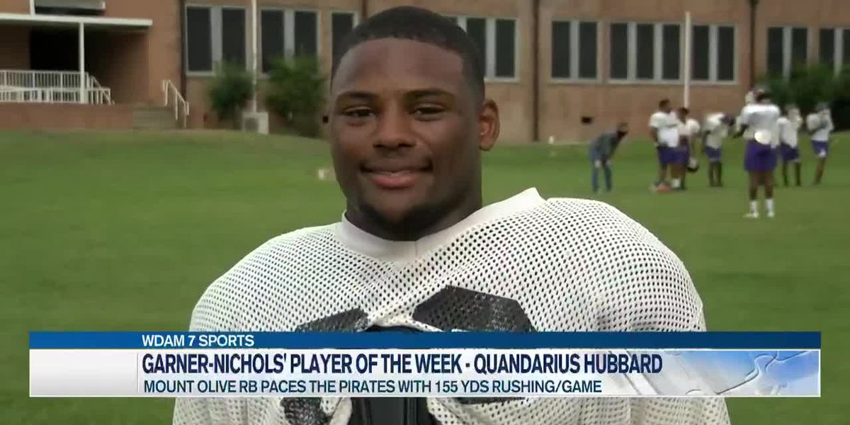 Player of the Week - Quandarius Hubbard paces the Pirates