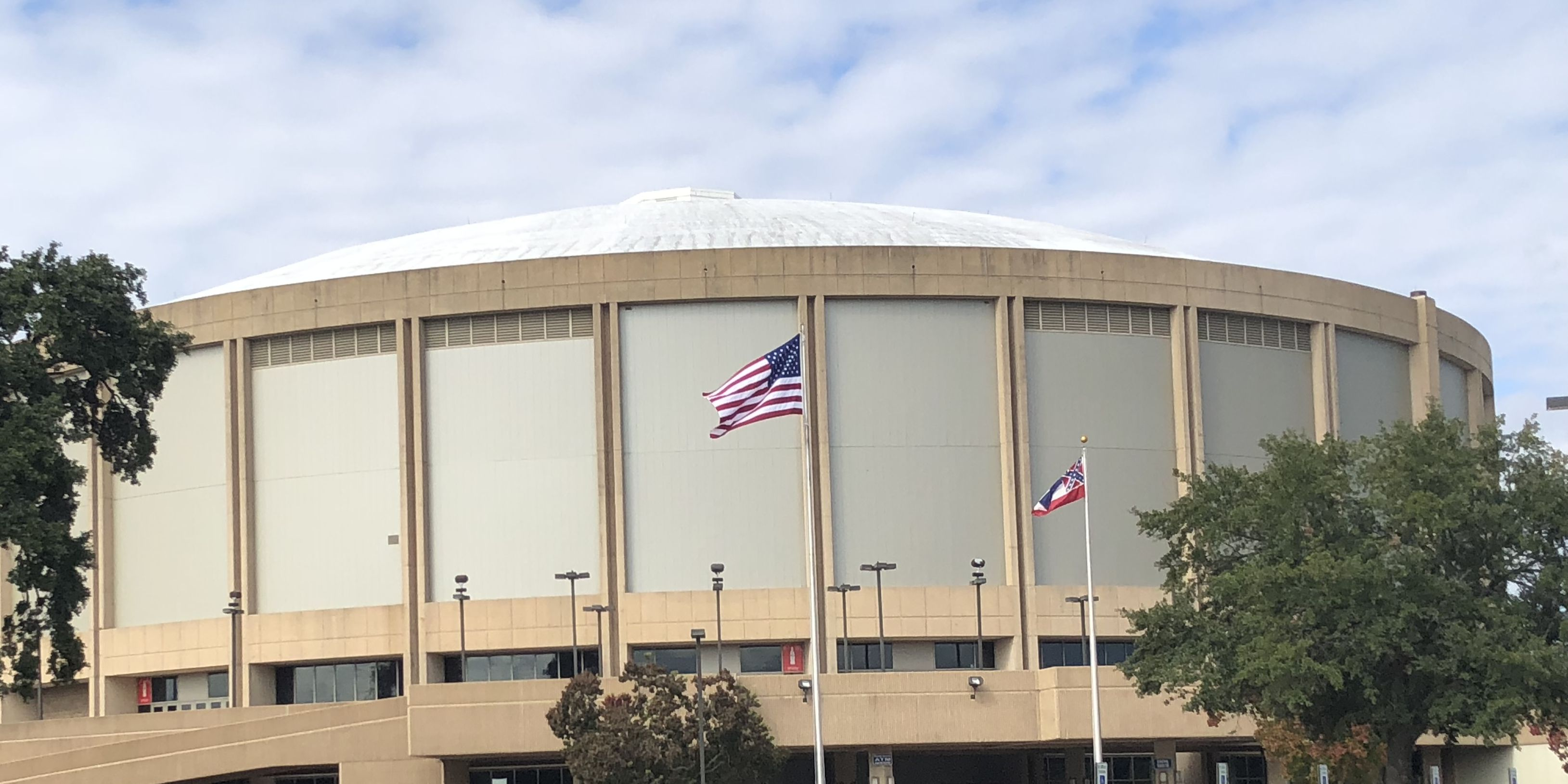 Coast Coliseum getting ready for President Trump's visit