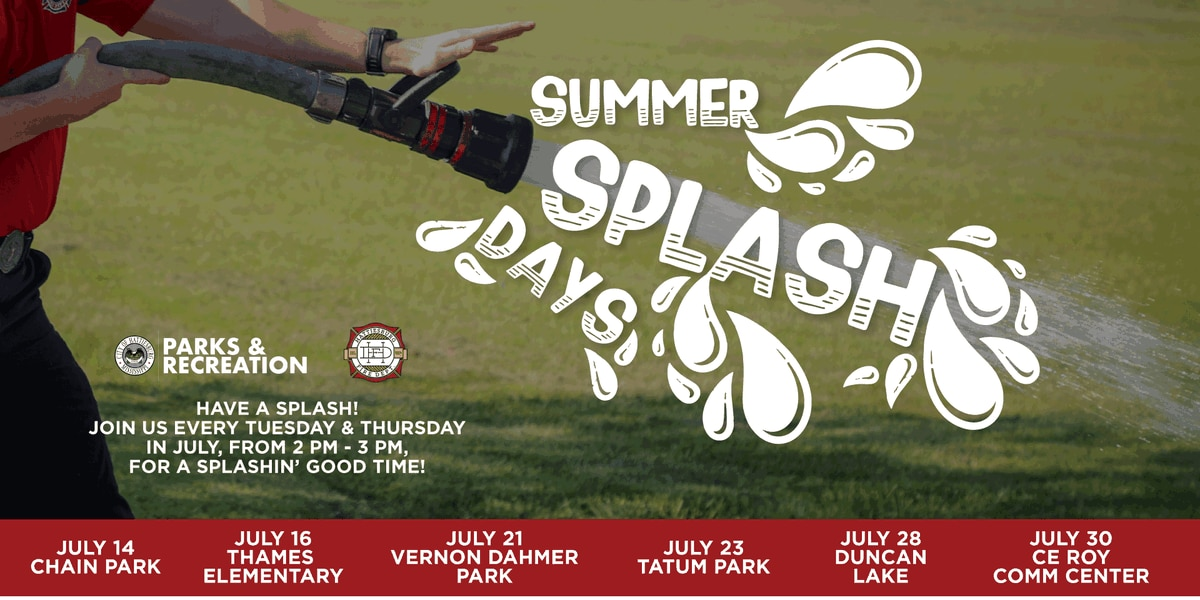 HFD, Parks & Rec hosting 'Summer Splash Days' for city youth