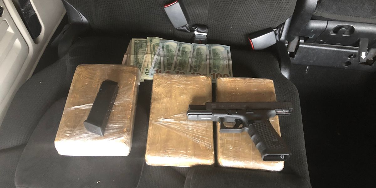 3 kilos of cocaine seized during Lamar Co. traffic stop