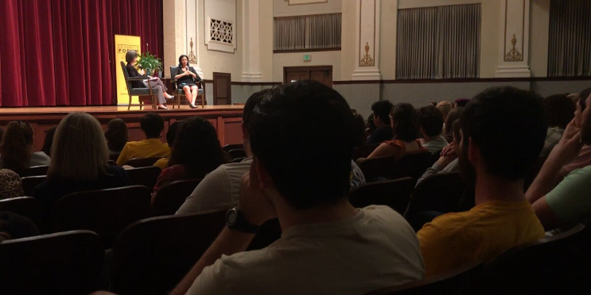 Parkland survivor speaks at USM forum