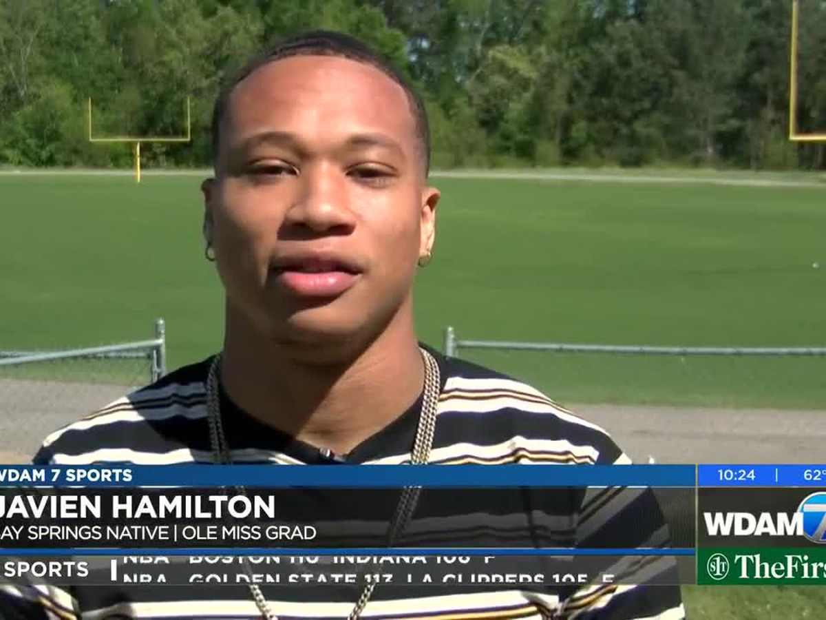 Javien Hamilton works toward dream of playing pro football
