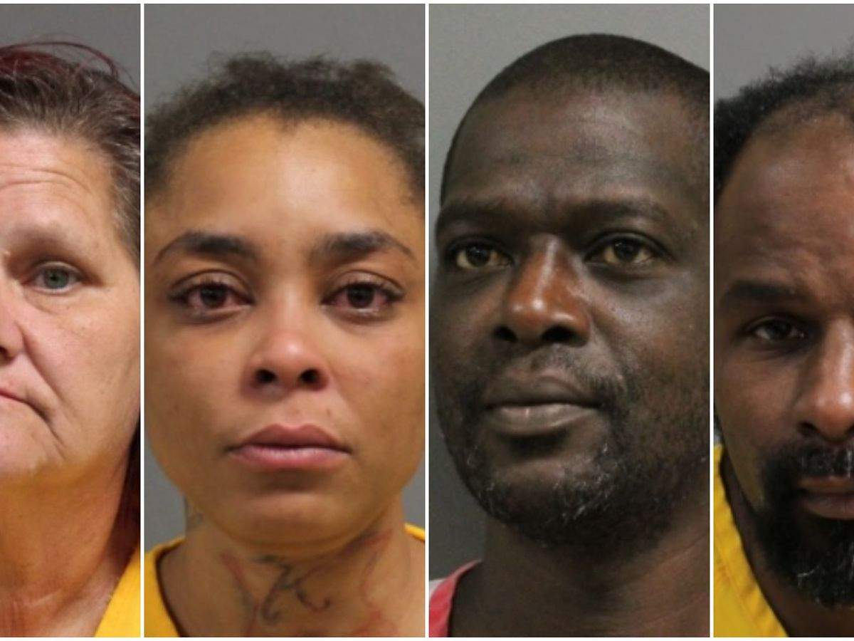 4 arrested on various felony charges in Hattiesburg, Forrest County Wednesday