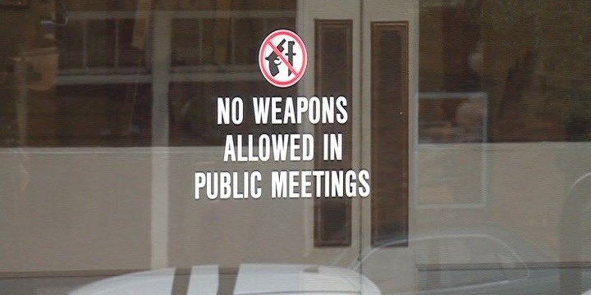Hattiesburg settles on firearm sign suit, others wait for approval
