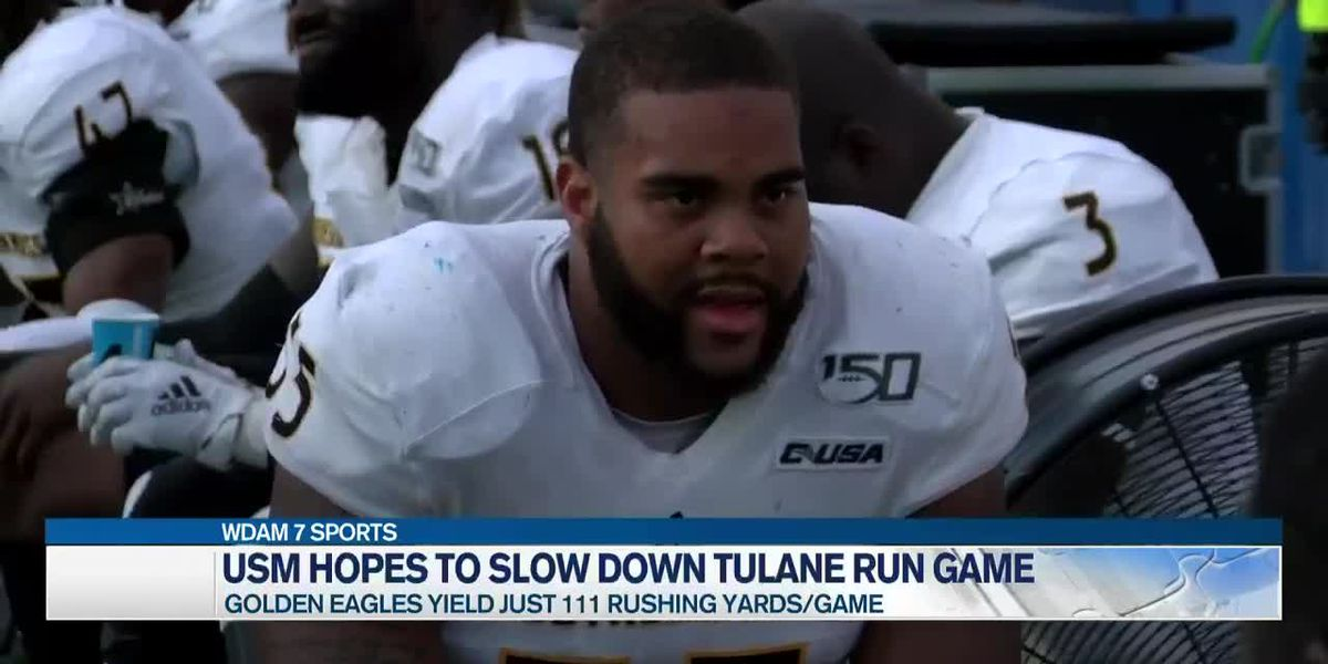 USM eager for challenge against strong Tulane rushing attack