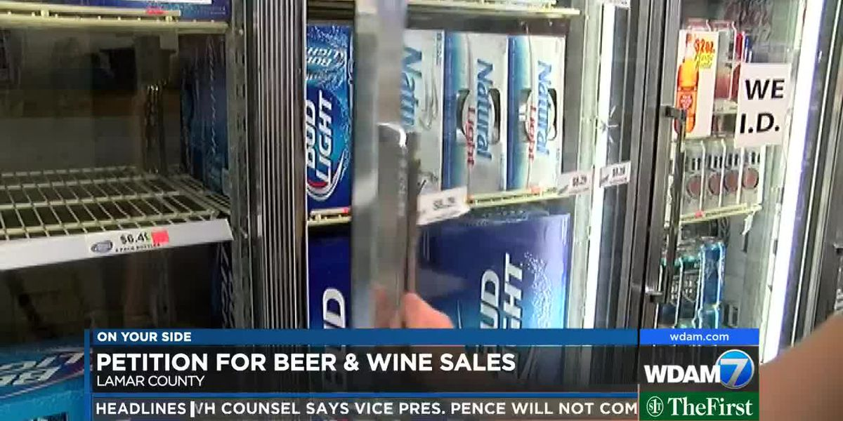 Petition to place beer, light wine vote on Lamar County ballot circulates