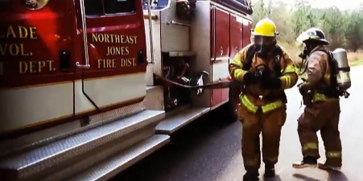 Jones County VFD rolls out recruitment video