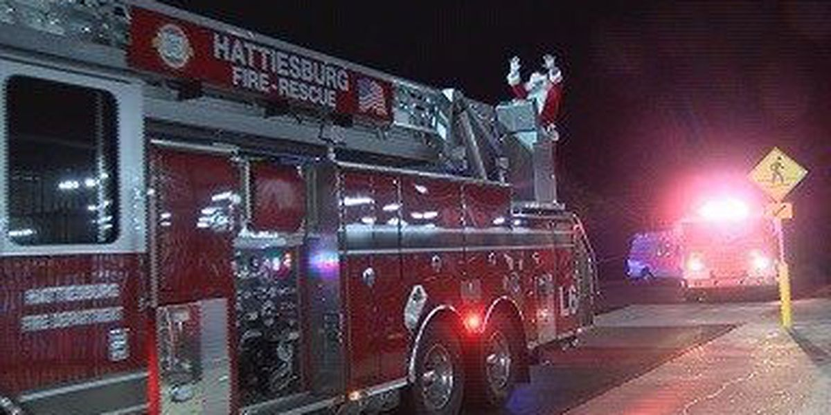 Hattiesburg police, firefighters take kids on annual holiday shopping spree