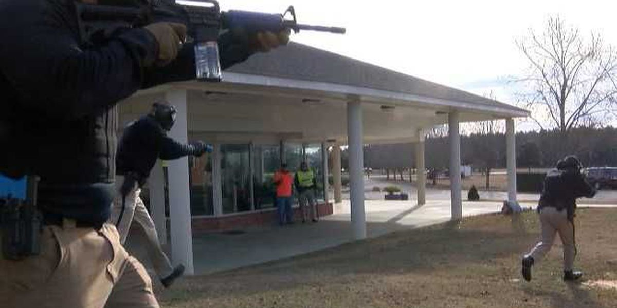 Lamar County Sheriff's Office trains for active shooter situations