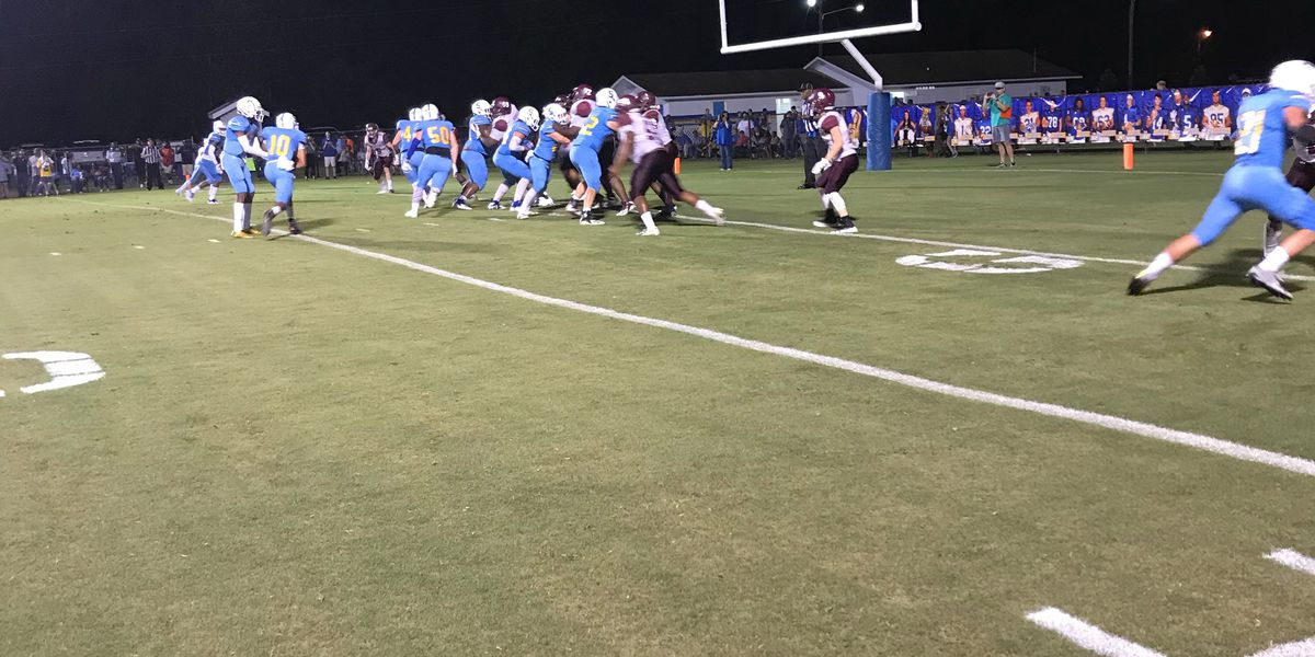 Undefeated Sumrall tops Richton, 33-20