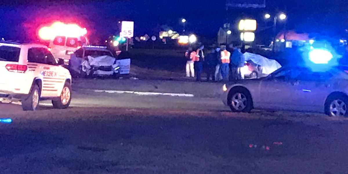 Coroner identifies two killed in crash involving Forrest Co. deputy