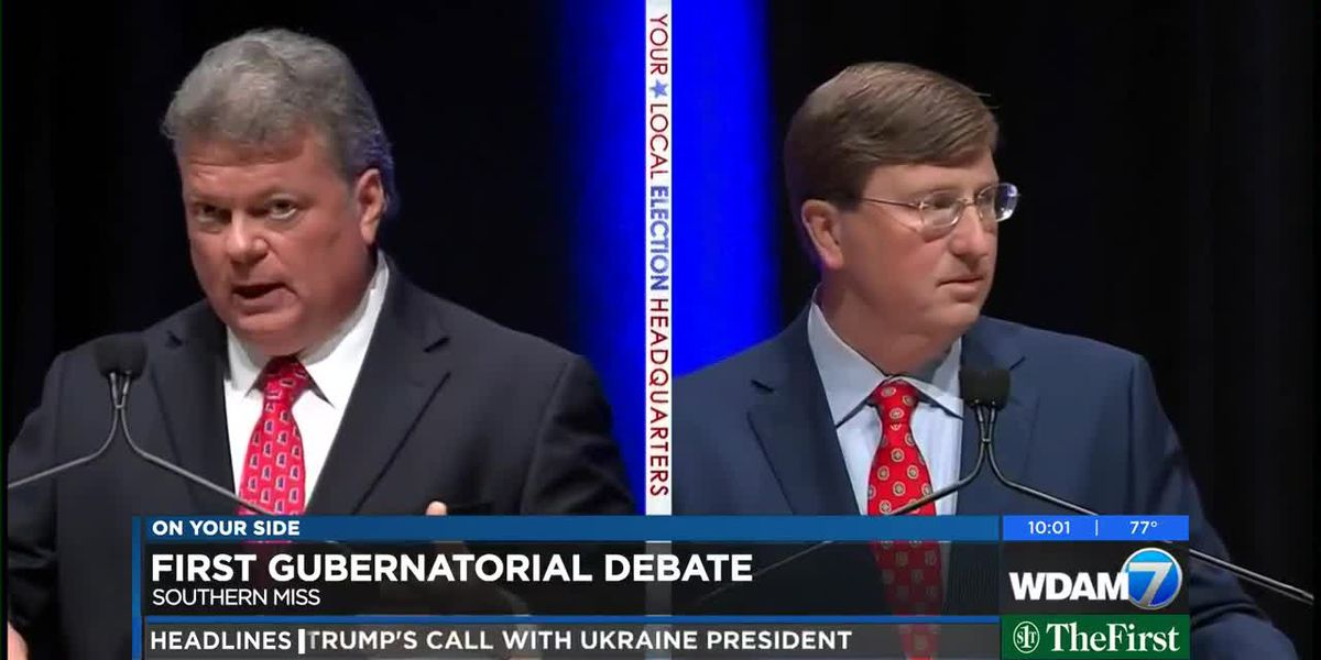 USM hosts Hood, Reeves in first gubernatorial debate
