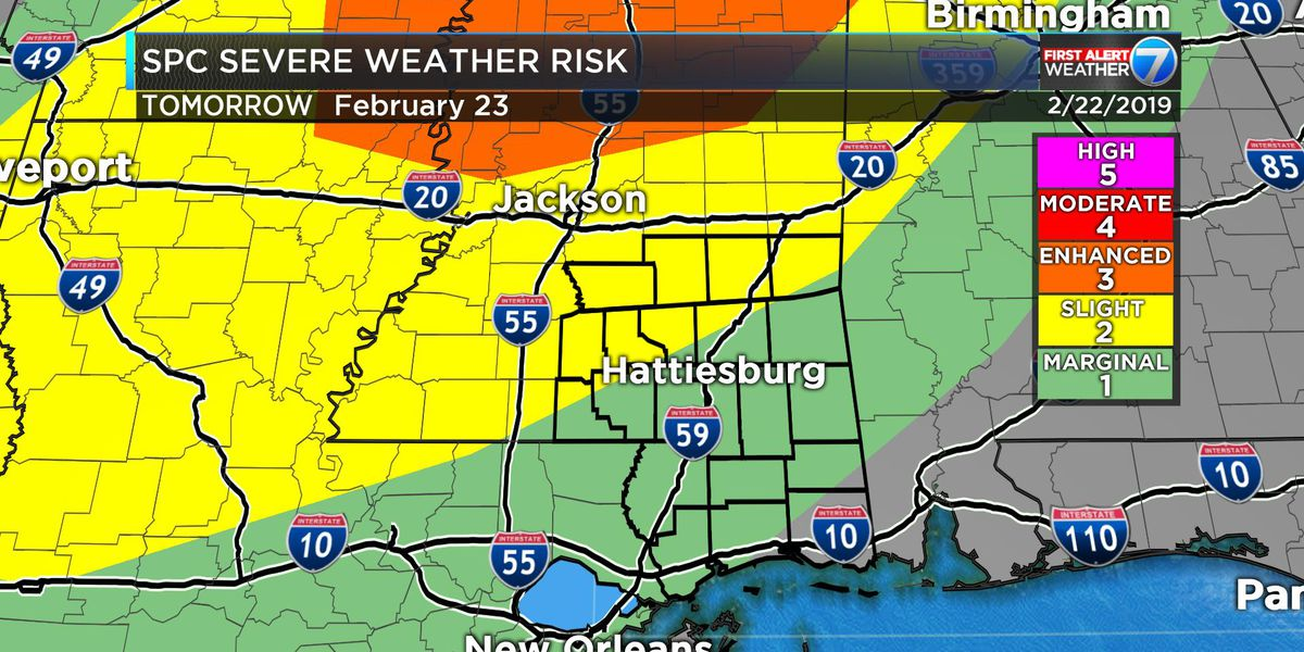 First Alert: Severe storms still possible Saturday night