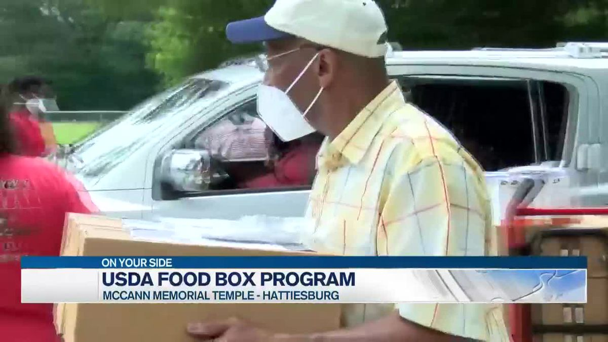 Hattiesburg church participates in Farmers to Families Food Box Program
