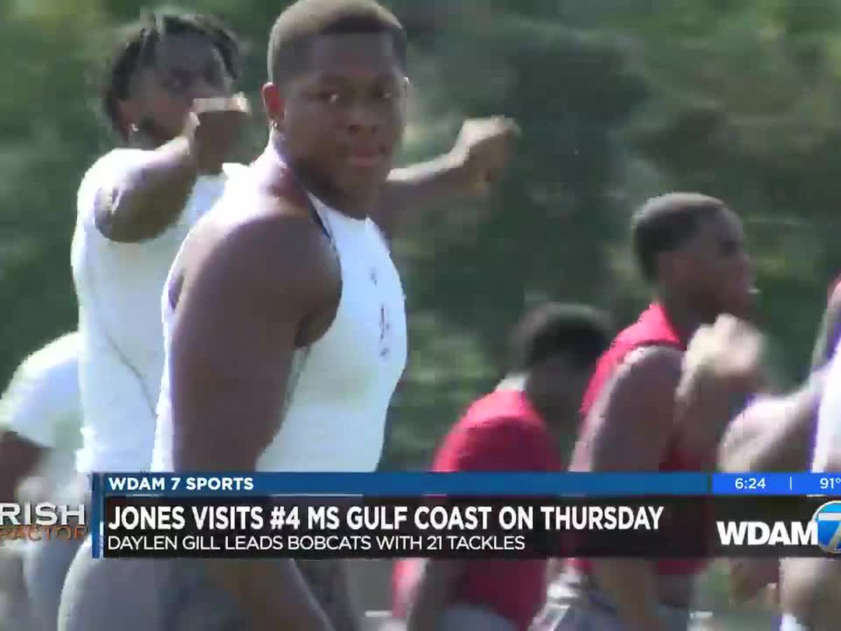 Jones College's Daylen Gill a force at linebacker