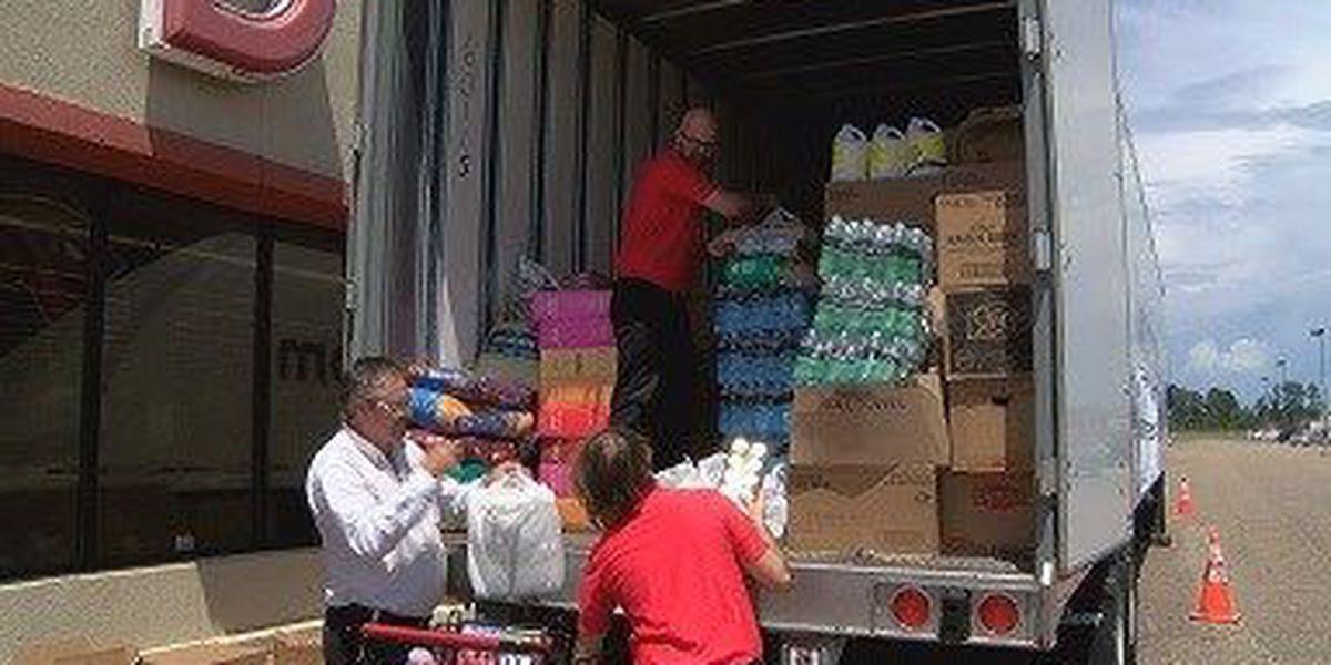 Supplies leave Columbia for flood-ravaged Louisiana