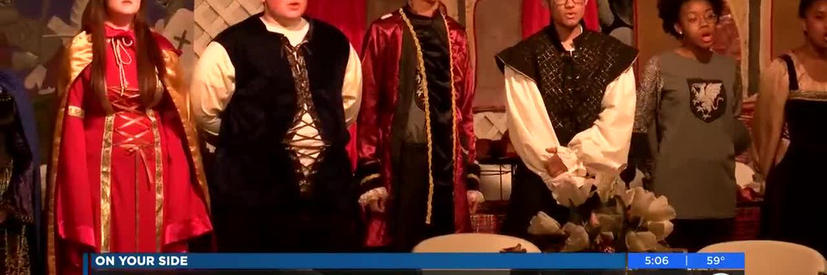 Columbia High's Madrigal Renaissance Feast