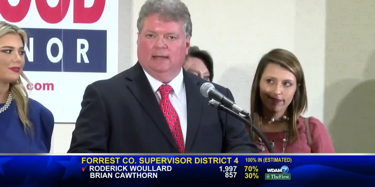Jim Hood Campaign Watch Party WDAM Sunrise 11/6/19