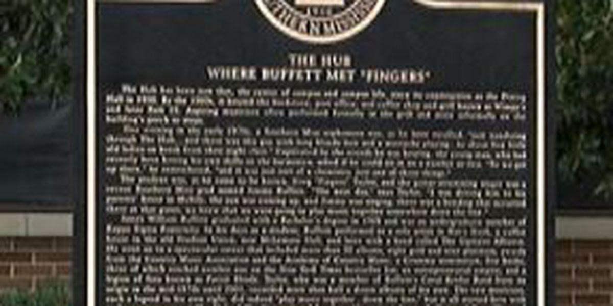 USM unveils plaque to honor music legends