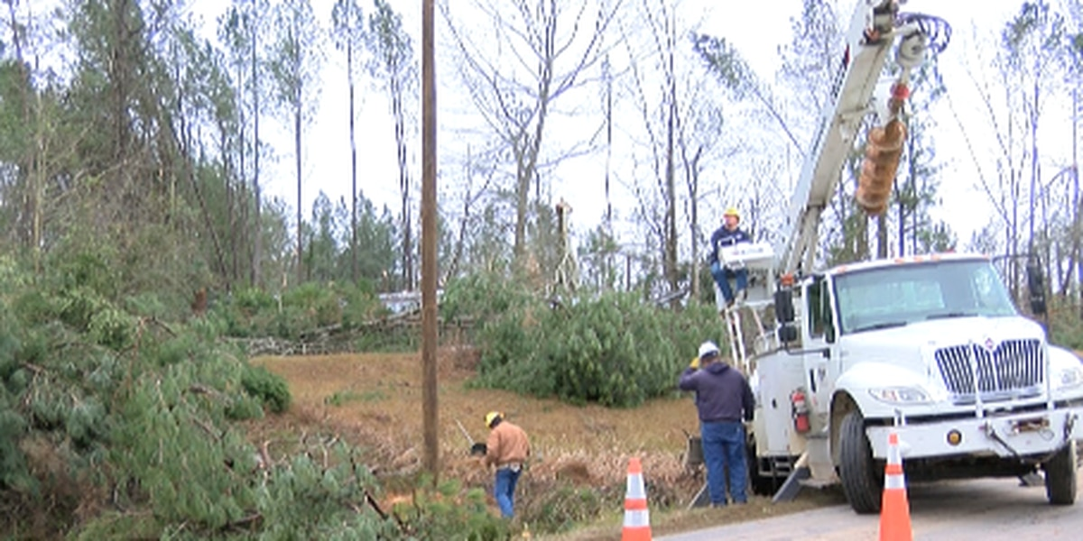 Recovery in Jones County continues following tornadoes