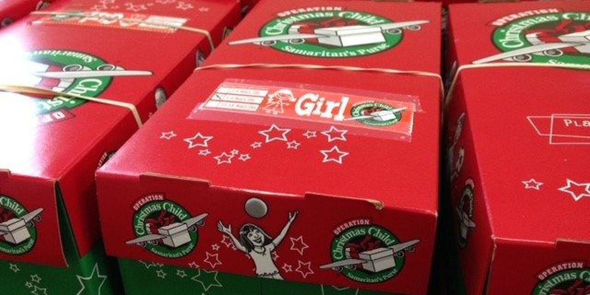 Pine Belt locations still collecting boxes for Operation Christmas Child