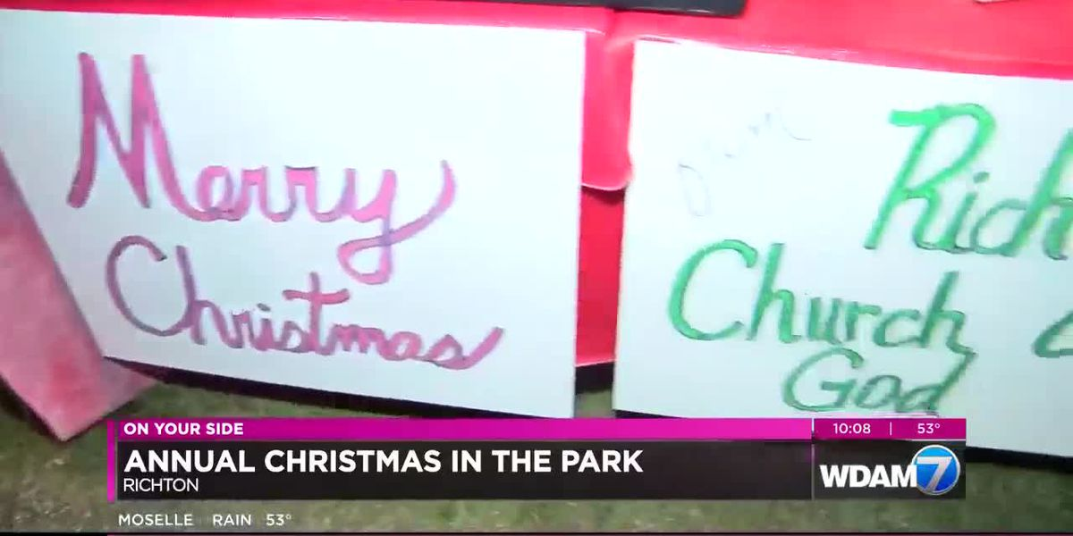 Richton holds annual Christmas parade and Christmas in the Park