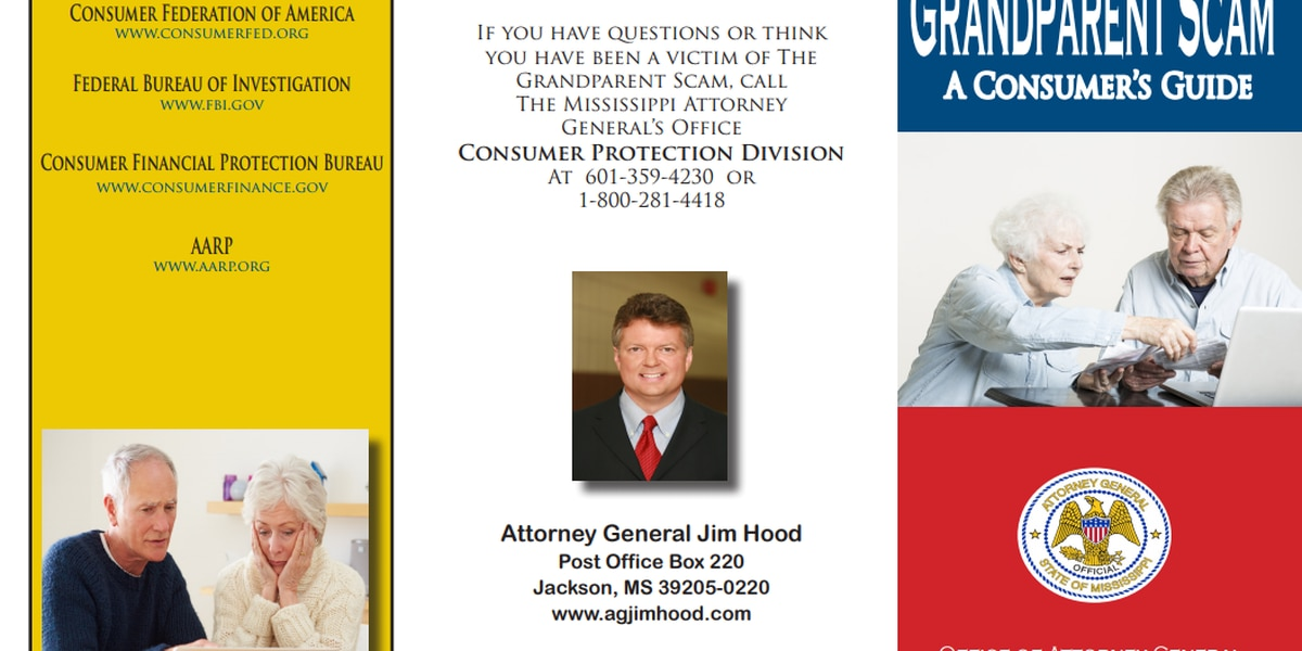 """AG's office warns of """"Grandparent Scam"""""""