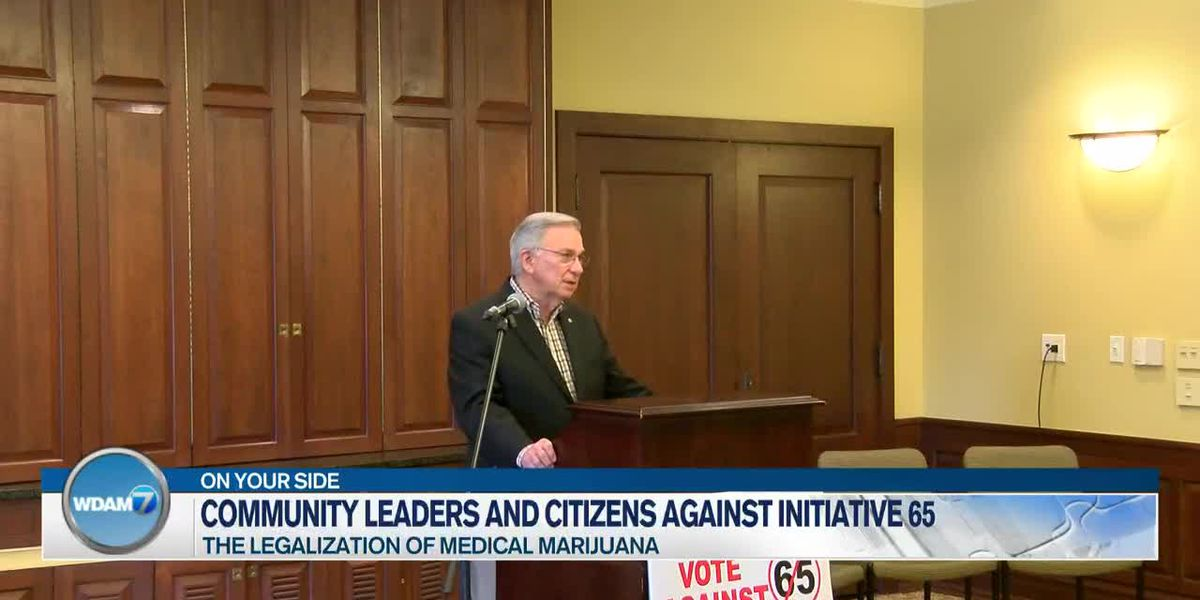 Medical professionals, community leaders voice opposition to medical marijuana initiative